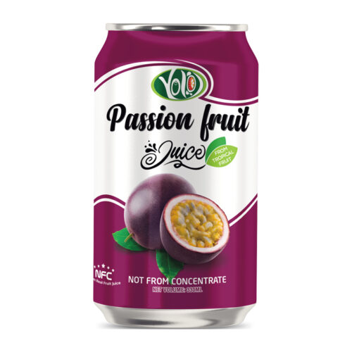 330ml canned fresh passion fruit juice