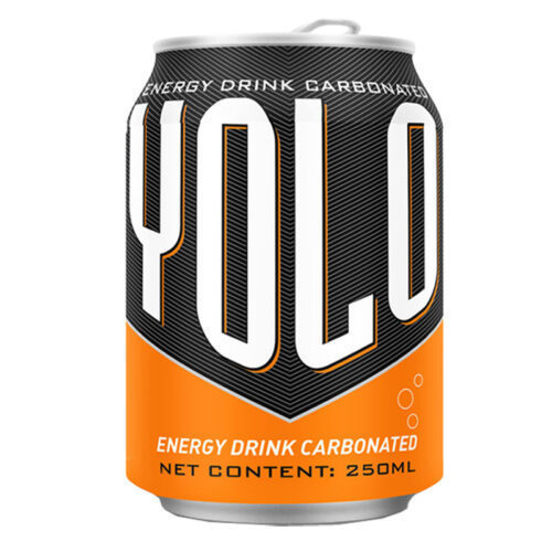 250ml Short Can Energy Drink Yolo private brand