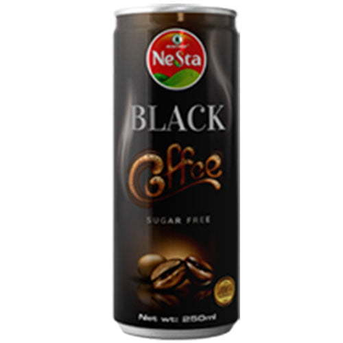 250 canned black coffee drink suger free