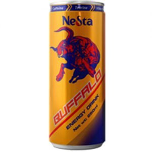 250ml canned Buffalo energy drink
