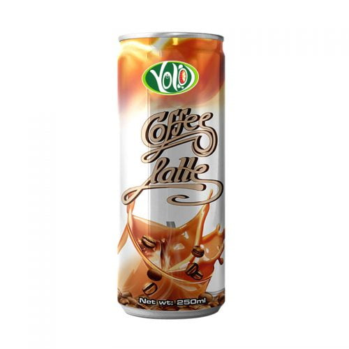 250ml canned coffee latte drink