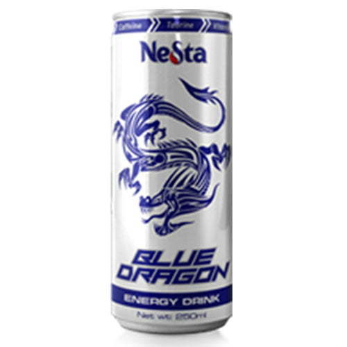 250ml canned Blue-Dragon energy drink