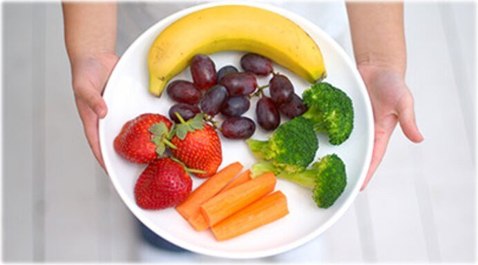 fruit and veggies for kids