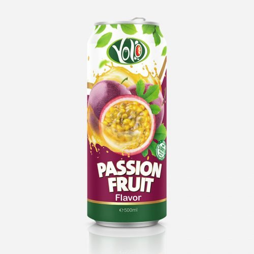 250ml canned fresh passion fruit juice drink