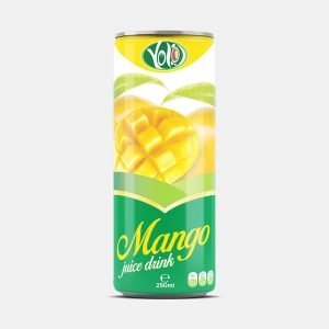 250ml canned mango fruit juice drink