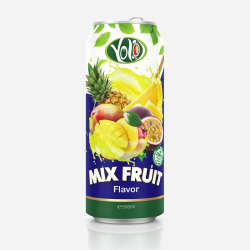 250ml canned mix fruit juice drink