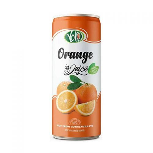 250ml canned orange juice supplier