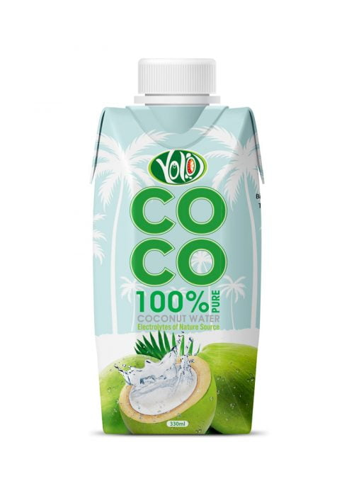 330ml Coconut water 100% pure