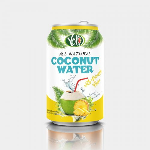 330ml canned coconut water pineapple juice