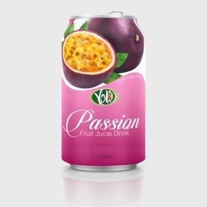 330ml canned fresh fruit passion juice drink