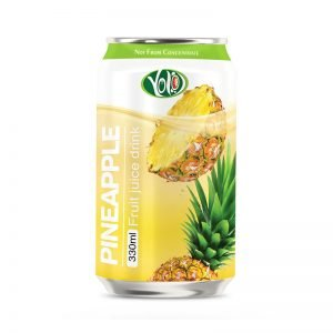 330ml canned fresh fruit pineapple juice