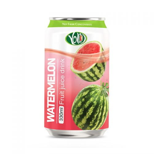 330ml canned tropicana fruit watermelon juice