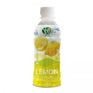 350ml pet bottle sparkling water lemon flavor