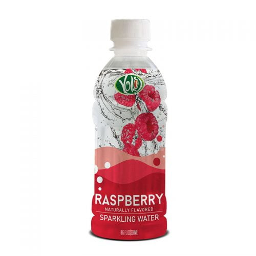 350ml pet bottle sparkling water raspberry flavor