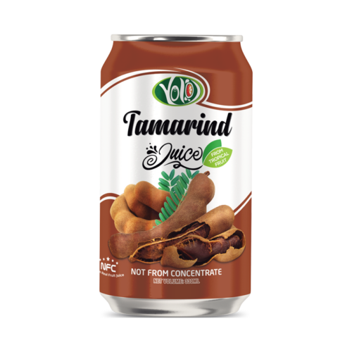 Not From Concentrate 330ml canned fresh tamarind fruit juice