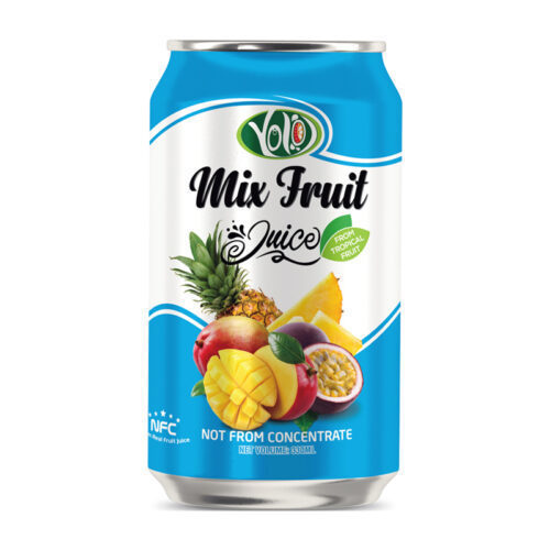 not from concentrate mixed fruit juice