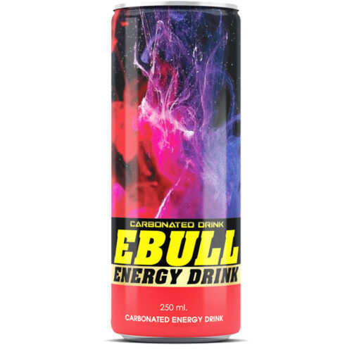 wholesale carbonated energy drink ebull 7 250ml canned