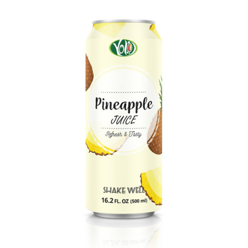 High quality refresh and tasty 500ml pineapple juice drink