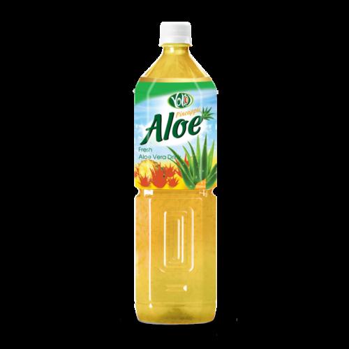 pure natural 1000ml fresh aloe vera drink pineapple